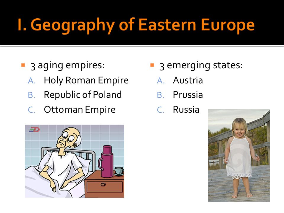 I. Geography of Eastern Europe