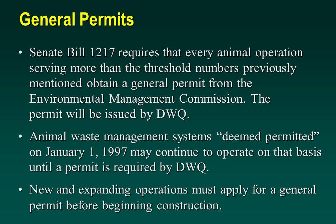 General Permits