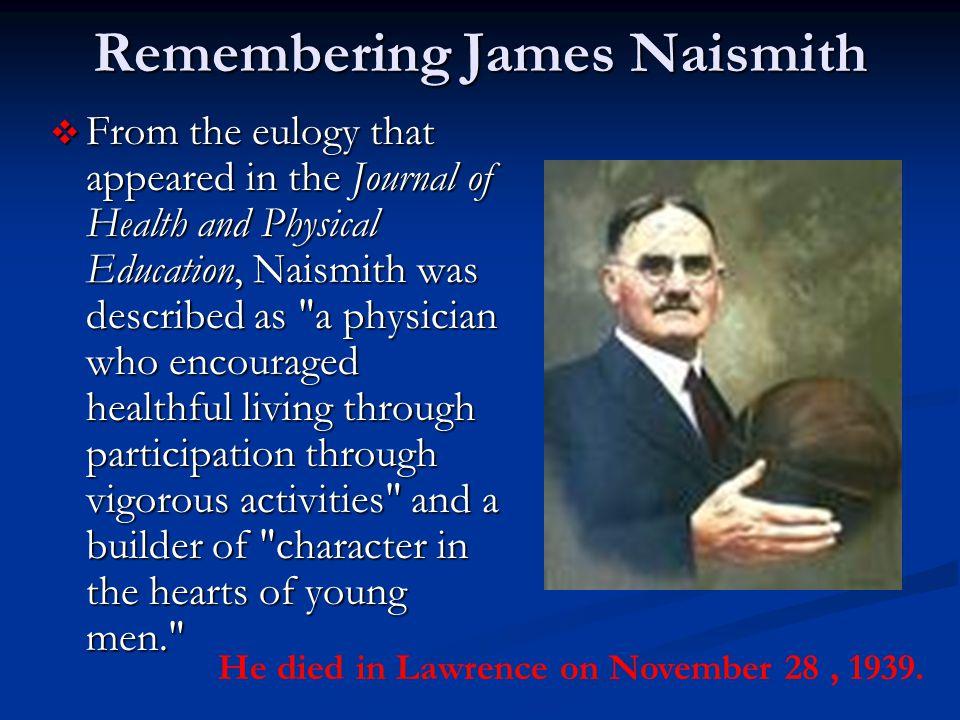 Remembering James Naismith