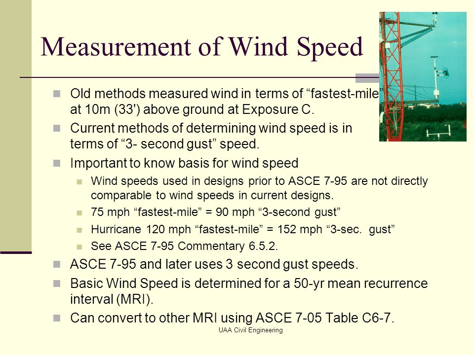 Wind loads the nature of wind ppt video online download for Table 6 3 asce 7 05