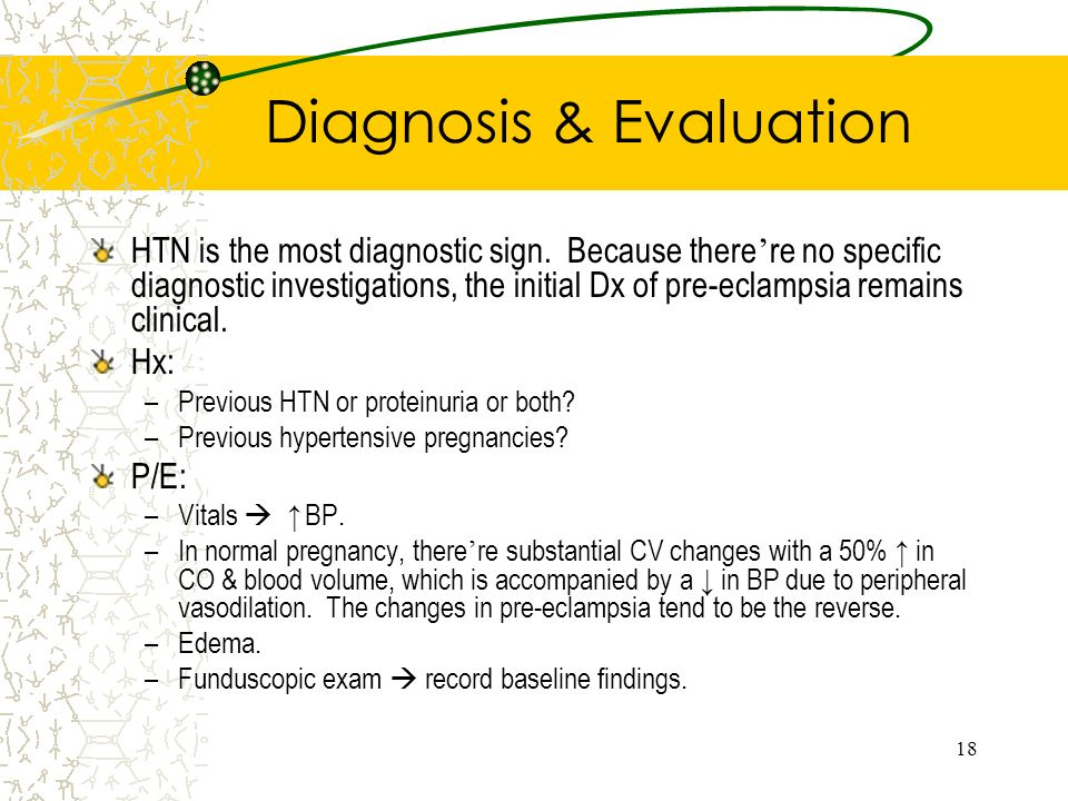 Diagnosis & Evaluation