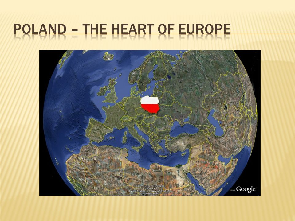 Poland – the Heart of europe