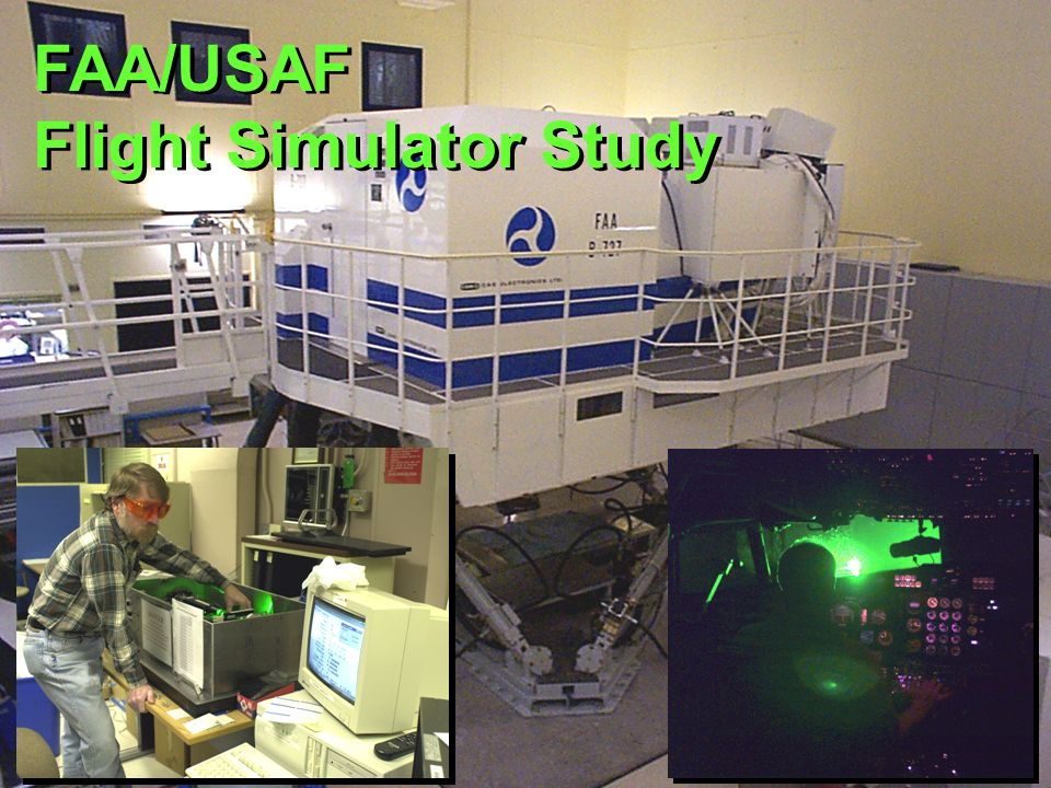 FAA/USAF Flight Simulator Study