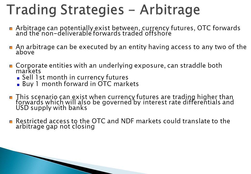 Trading Strategies - Arbitrage