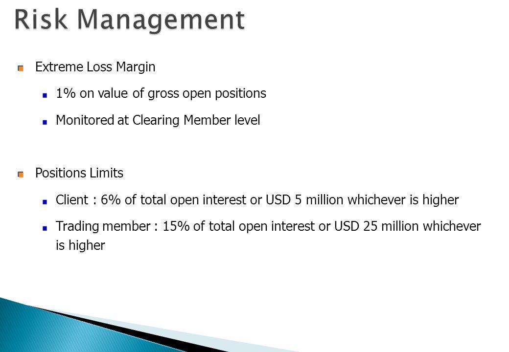 Risk Management Extreme Loss Margin