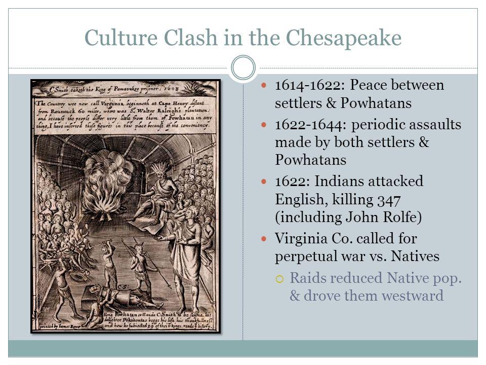 Culture Clash in the Chesapeake