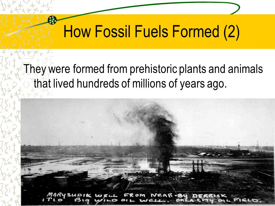 How Fossil Fuels Formed (2)