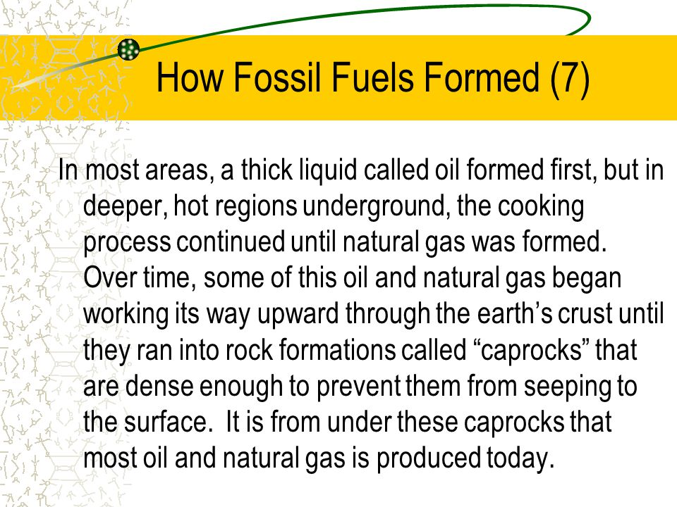 How Fossil Fuels Formed (7)