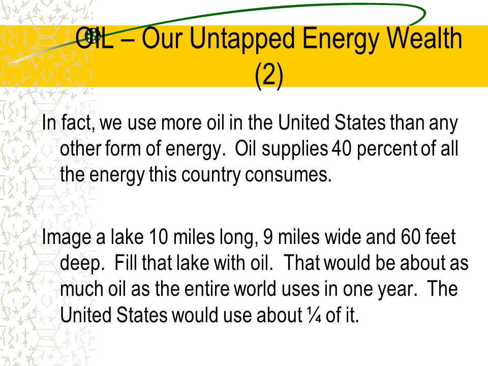 OIL – Our Untapped Energy Wealth (2)