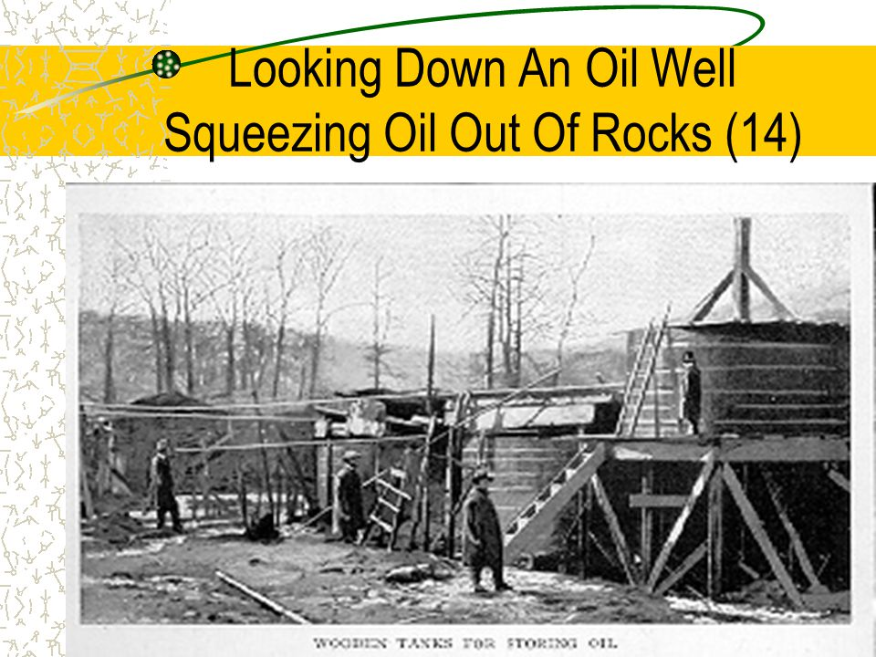 Looking Down An Oil Well Squeezing Oil Out Of Rocks (14)