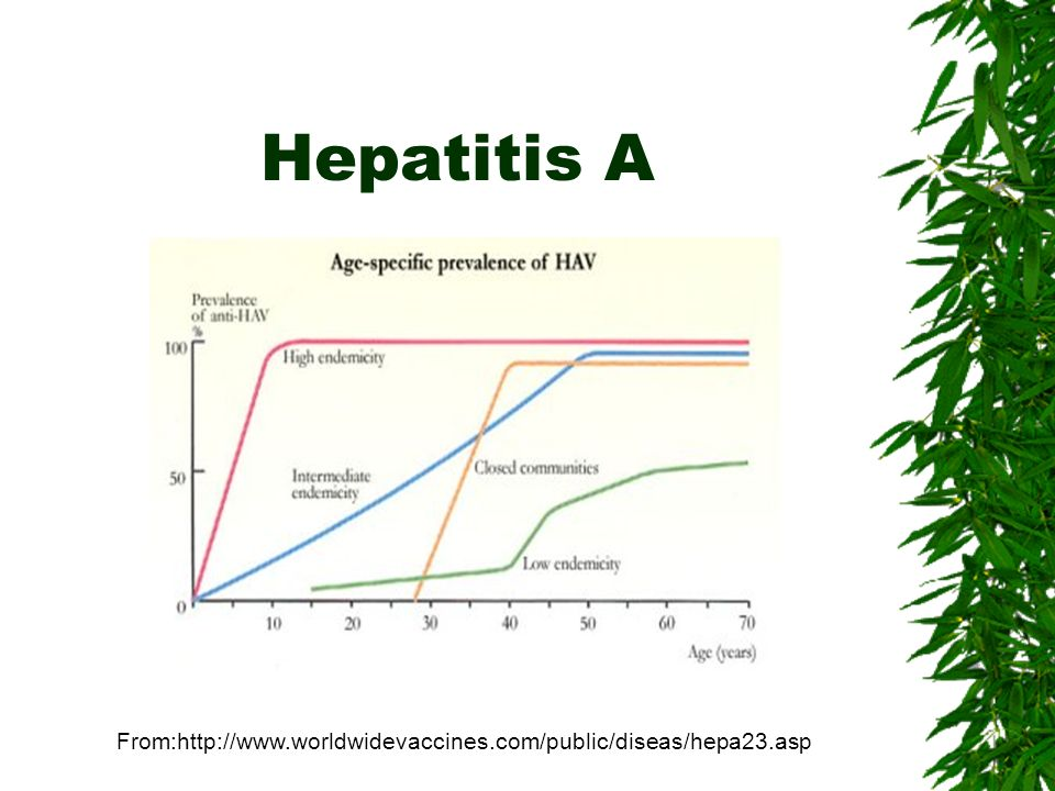 Hepatitis A From: