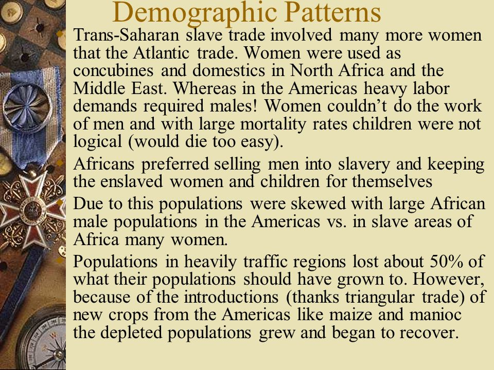Demographic Patterns