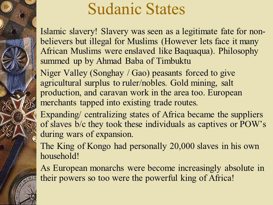 Sudanic States