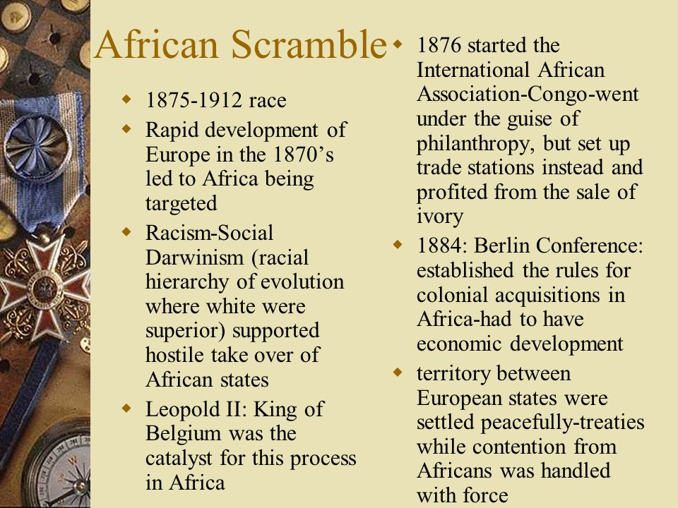 African Scramble