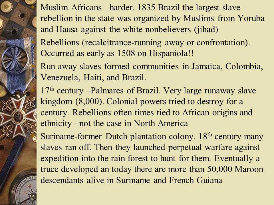Muslim Africans –harder