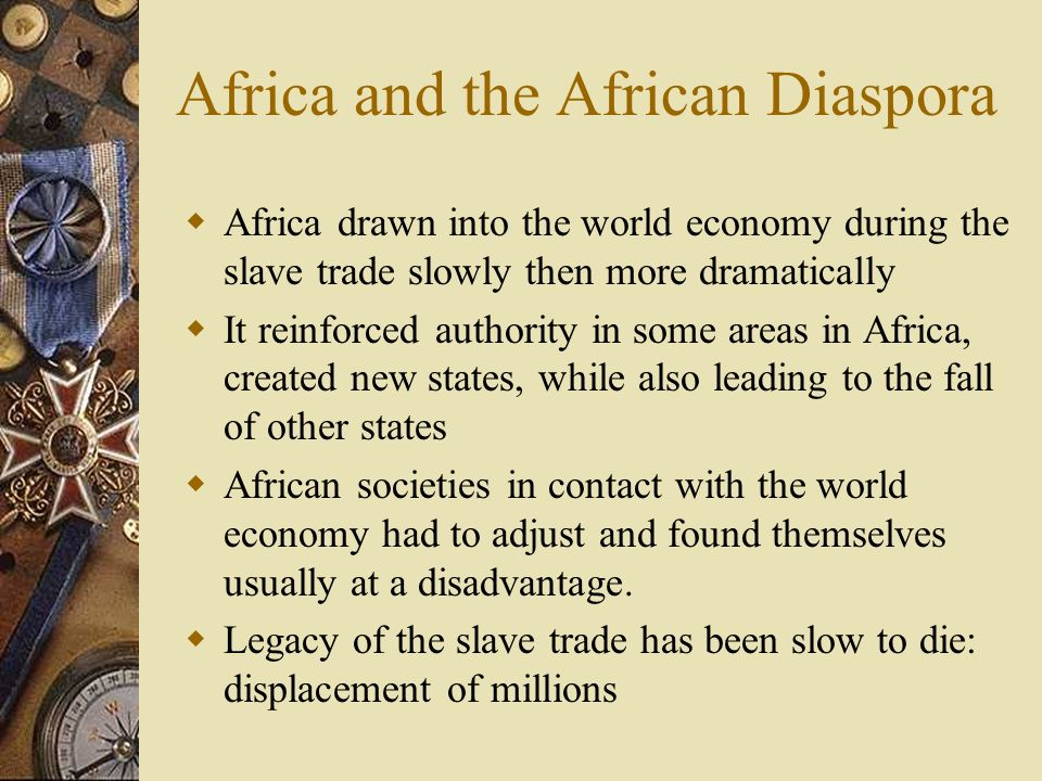 Africa and the African Diaspora