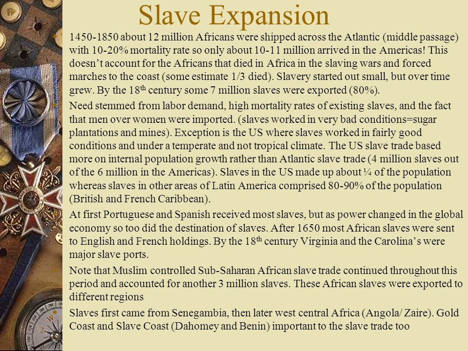 Slave Expansion