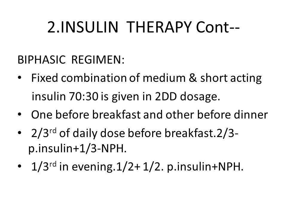 2.INSULIN THERAPY Cont--