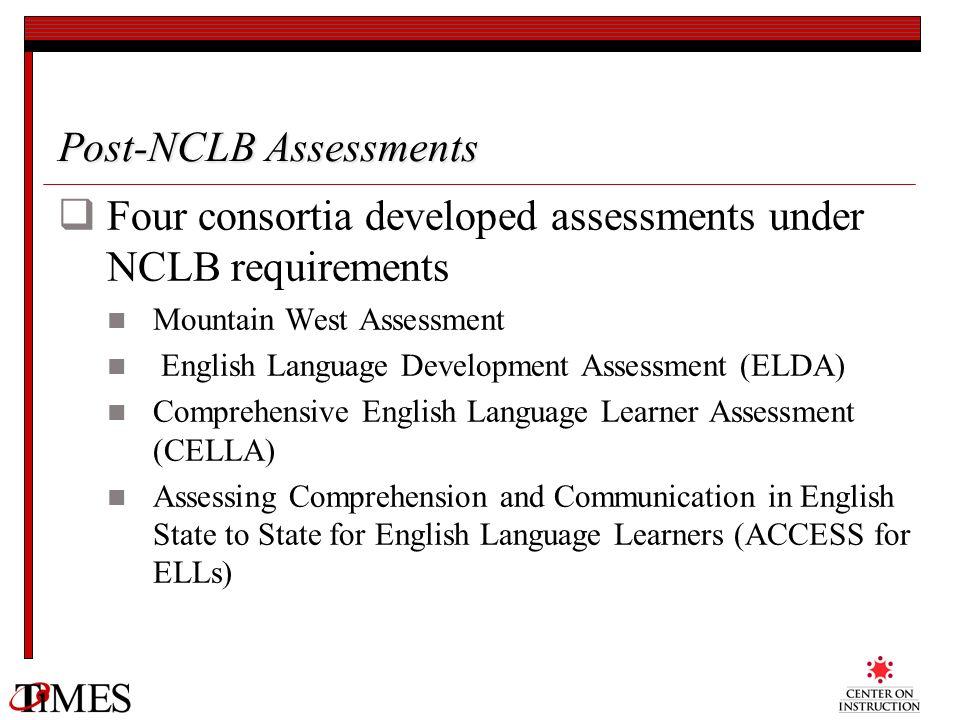 Post-NCLB Assessments