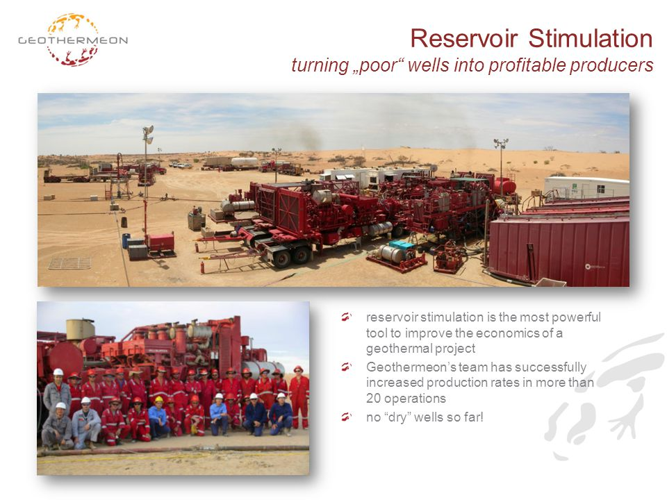 "Reservoir Stimulation turning ""poor wells into profitable producers"