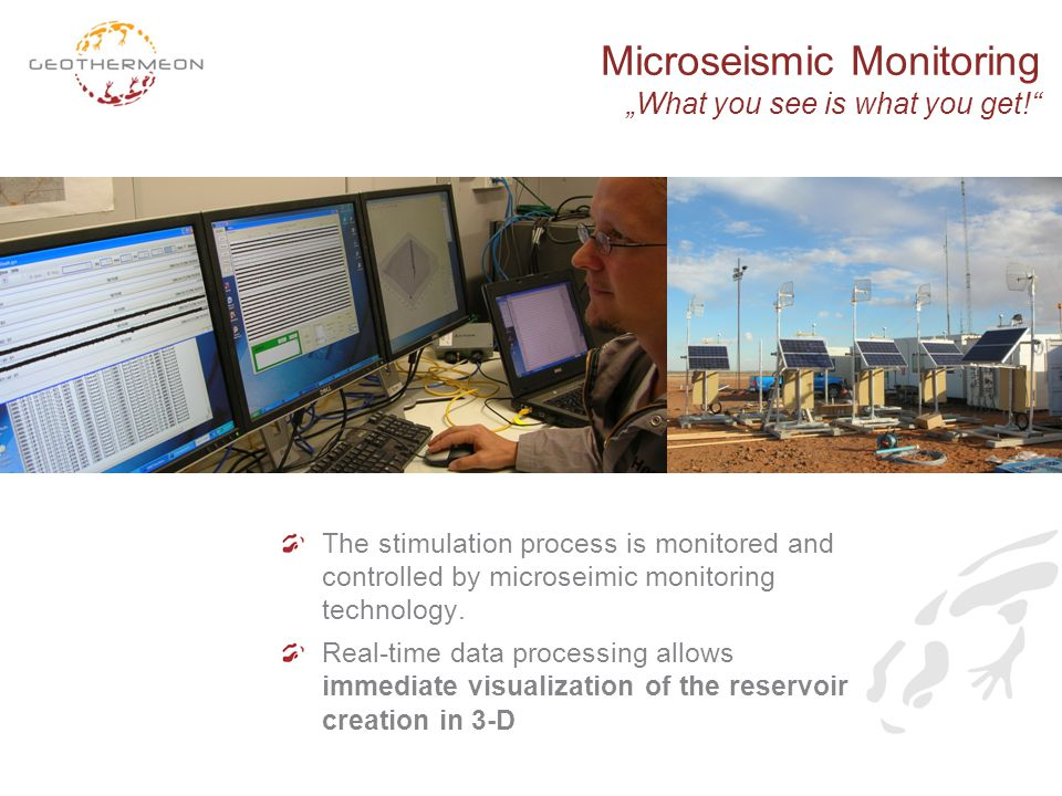 "Microseismic Monitoring ""What you see is what you get!"
