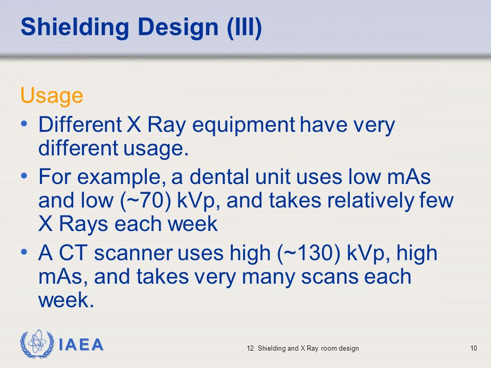 Shielding Design (III)