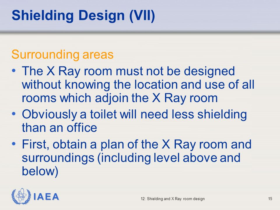 Shielding Design (VII)