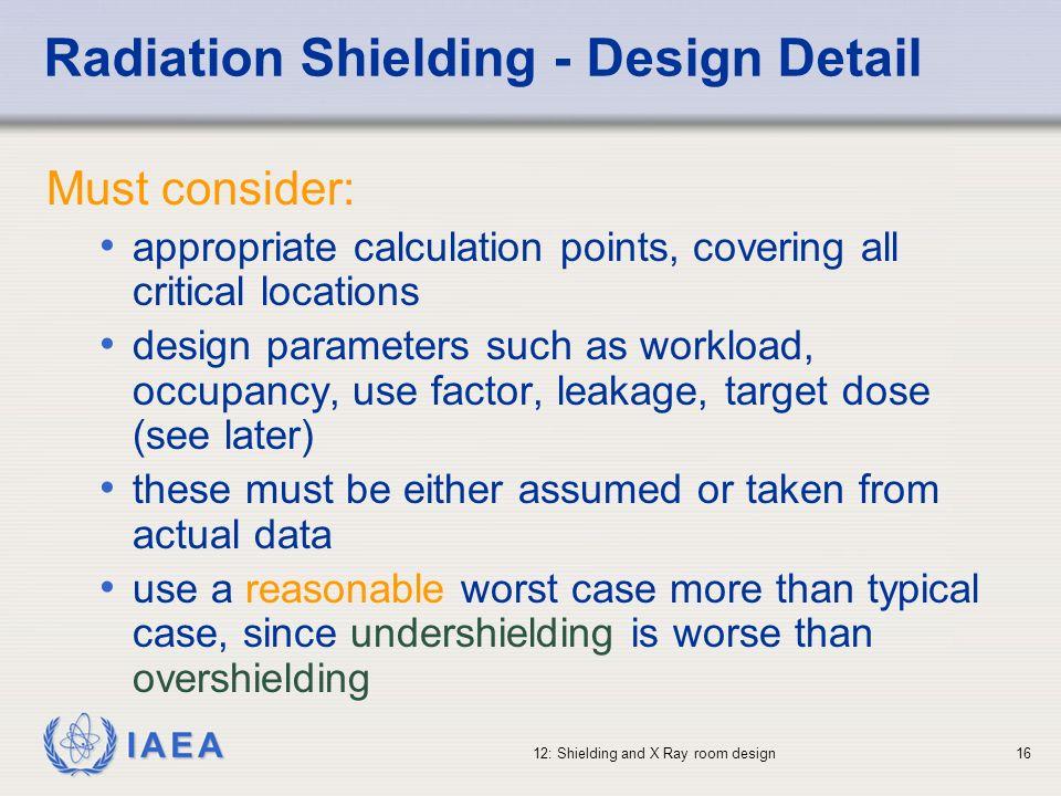 Radiation Shielding - Design Detail
