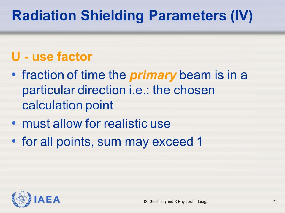 Radiation Shielding Parameters (IV)