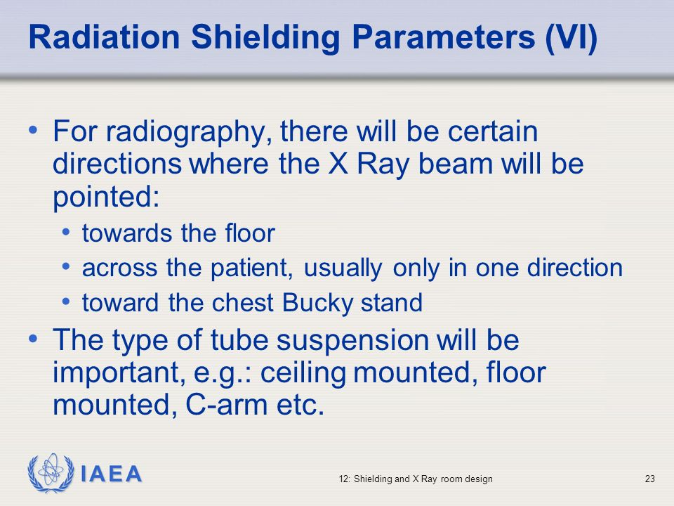 Radiation Shielding Parameters (VI)