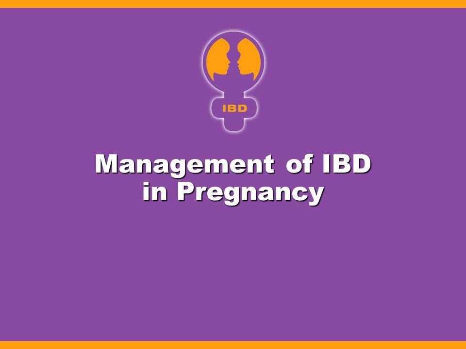 Management of IBD in Pregnancy