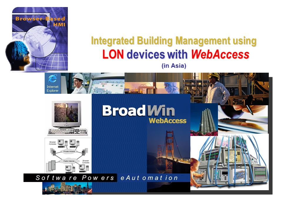 Integrated Building Management using LON devices with WebAccess (in Asia)