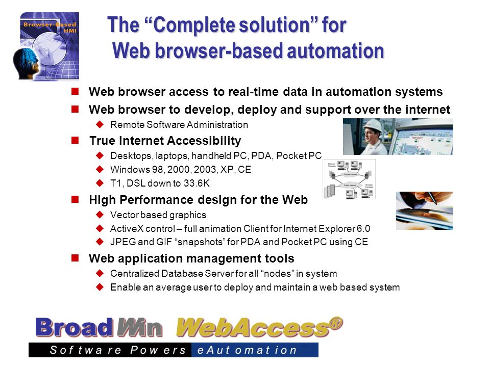 The Complete solution for Web browser-based automation