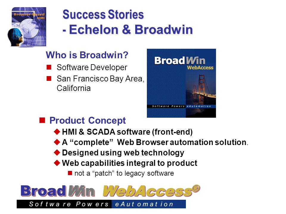 Success Stories - Echelon & Broadwin