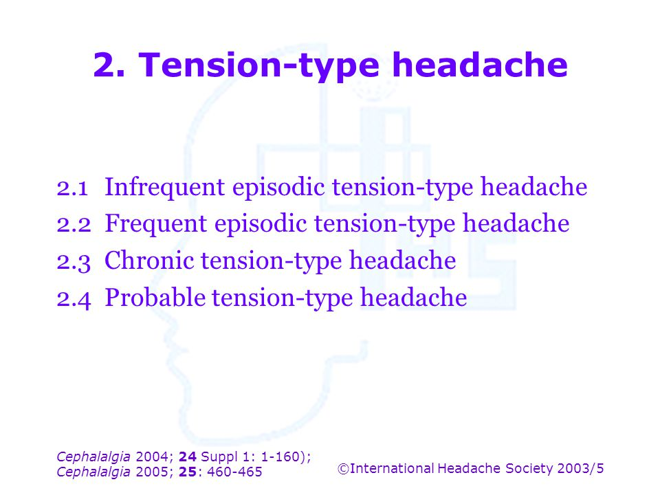 2. Tension-type headache