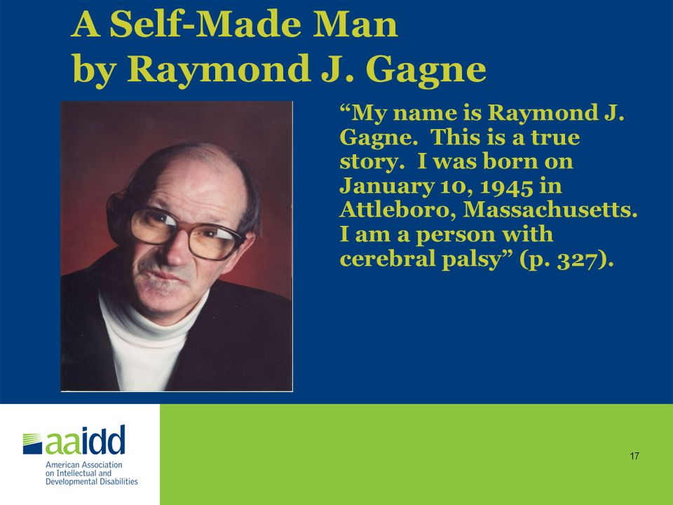 A Self-Made Man by Raymond J. Gagne