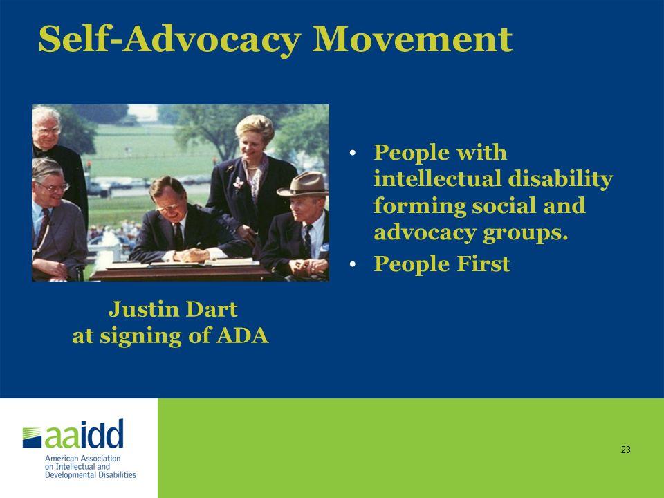 Self-Advocacy Movement