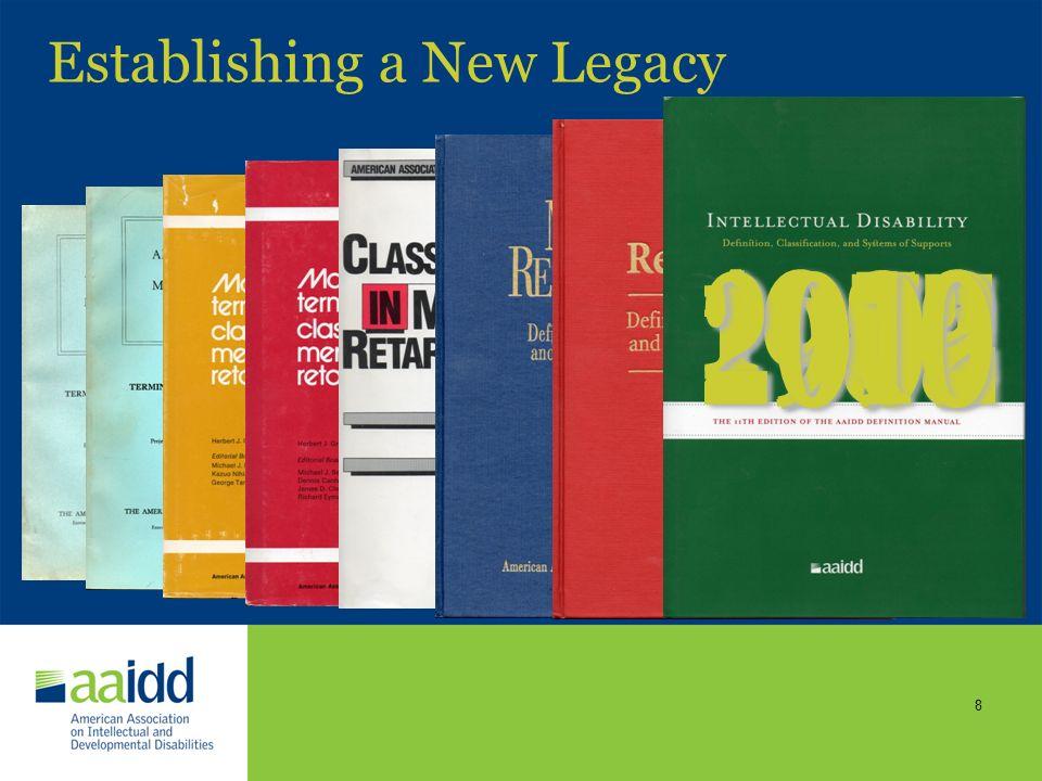 Establishing a New Legacy