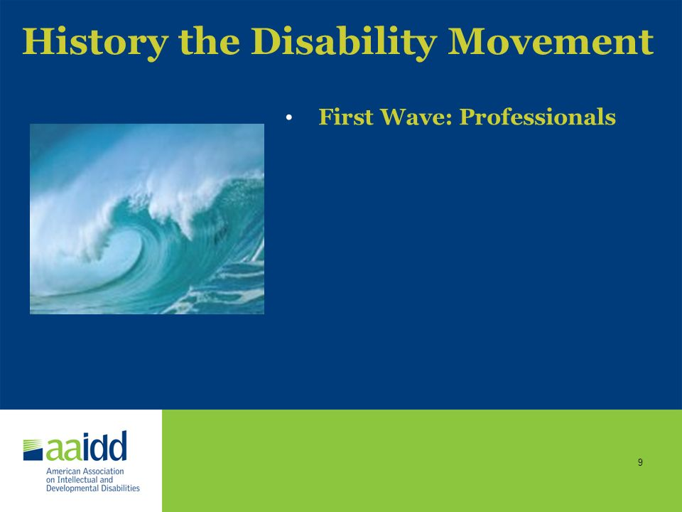 History the Disability Movement