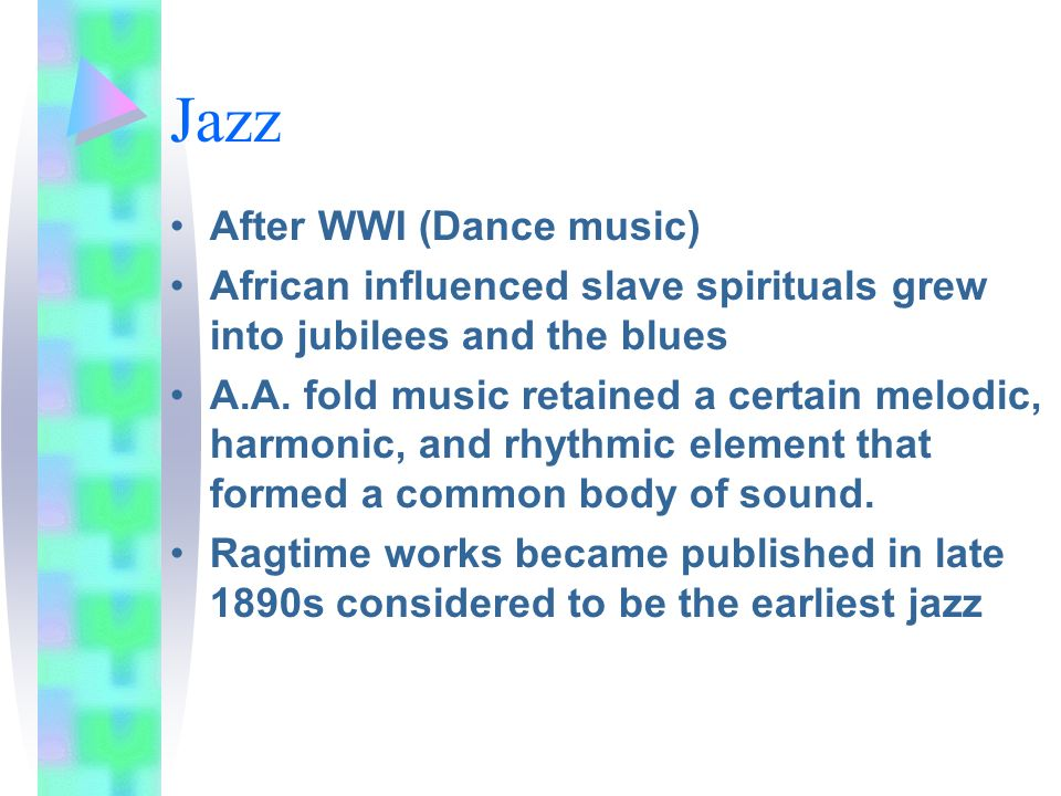 Jazz After WWI (Dance music)