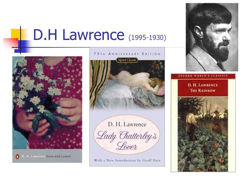 D.H Lawrence (1995-1930)