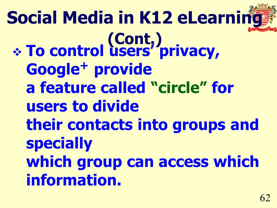 Social Media in K12 eLearning (Cont.)