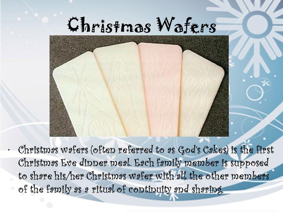 Christmas Wafers