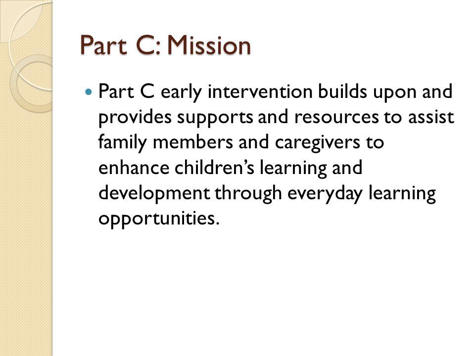 Part C: Mission