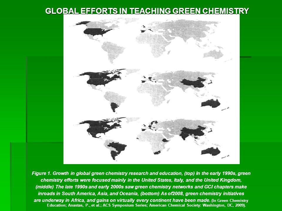 GLOBAL EFFORTS IN TEACHING GREEN CHEMISTRY