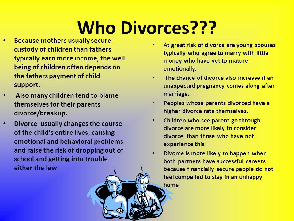 Who Divorces