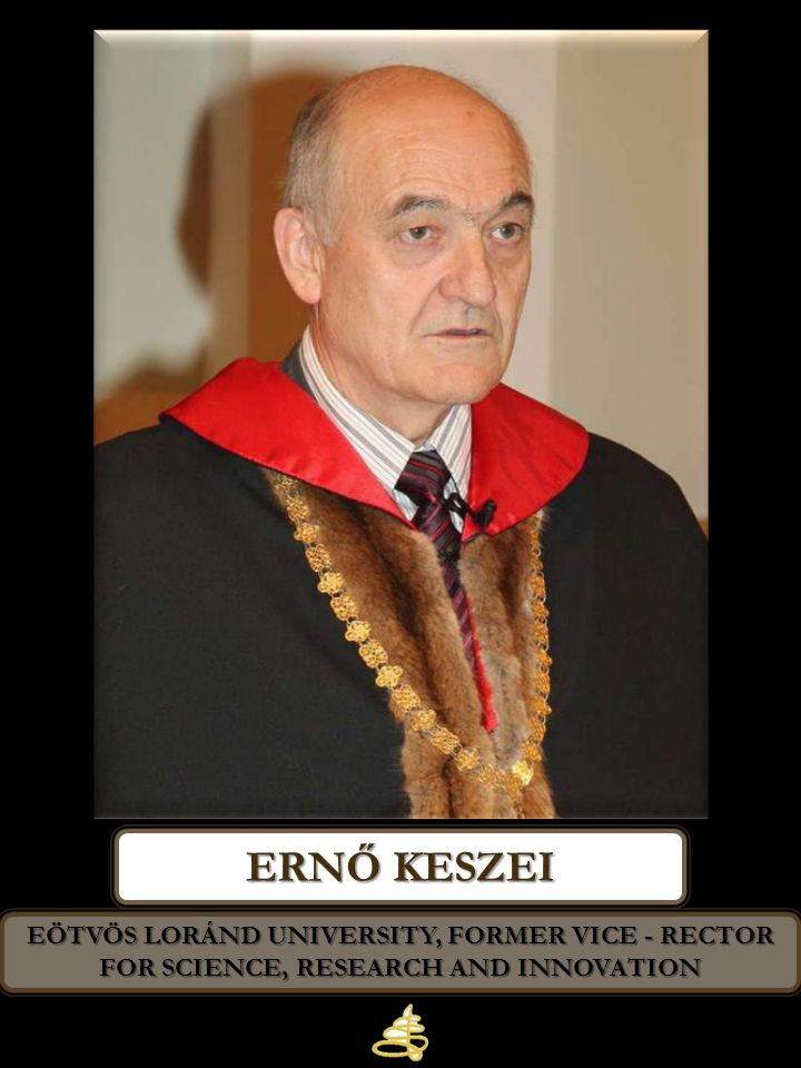 Ernő keszei Eötvös Loránd University, Former Vice - Rector for Science, Research and Innovation