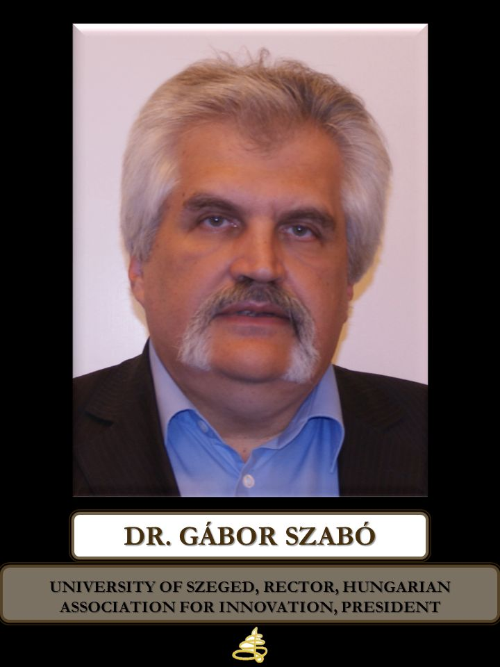 Dr. gábor szabó University of Szeged, Rector, Hungarian Association for Innovation, President