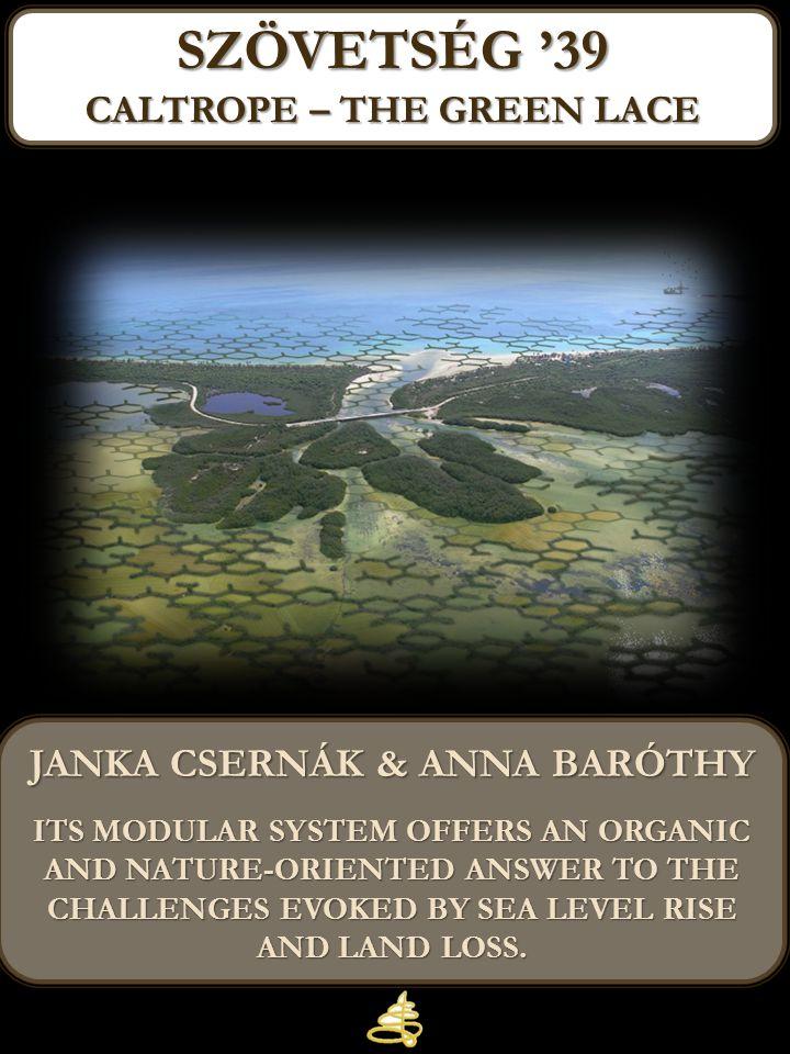 caltropE – the green lace Janka csernák & anna baróthy