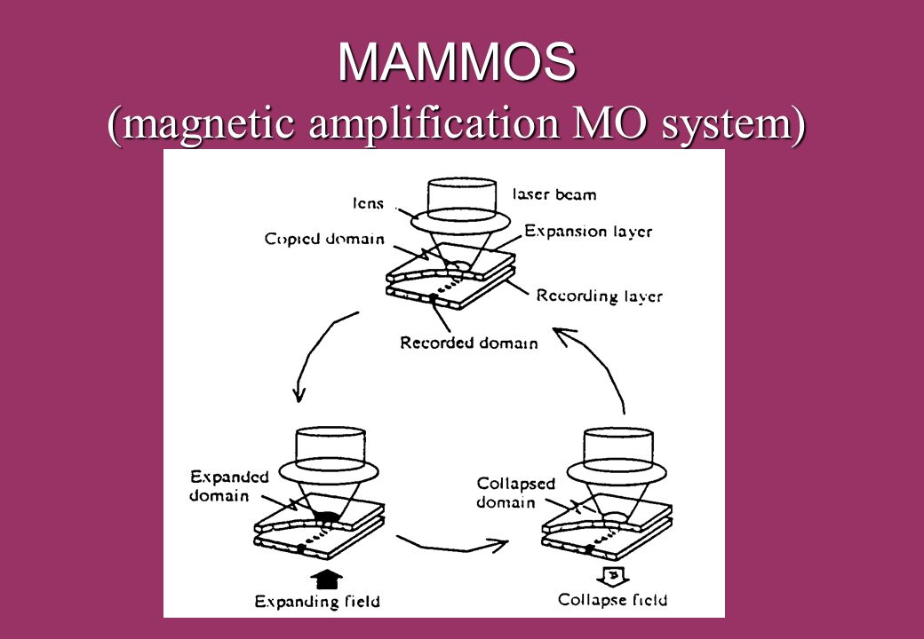 MAMMOS (magnetic amplification MO system)